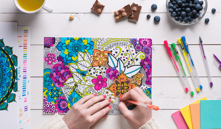 Coloring Isn't Just For Kids – Why You Should Use Coloring Books