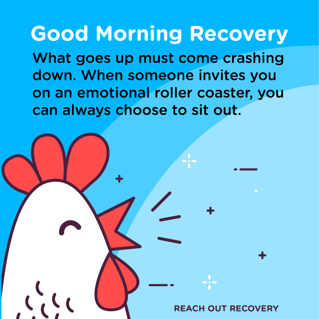 Good Morning Recovery roller coster