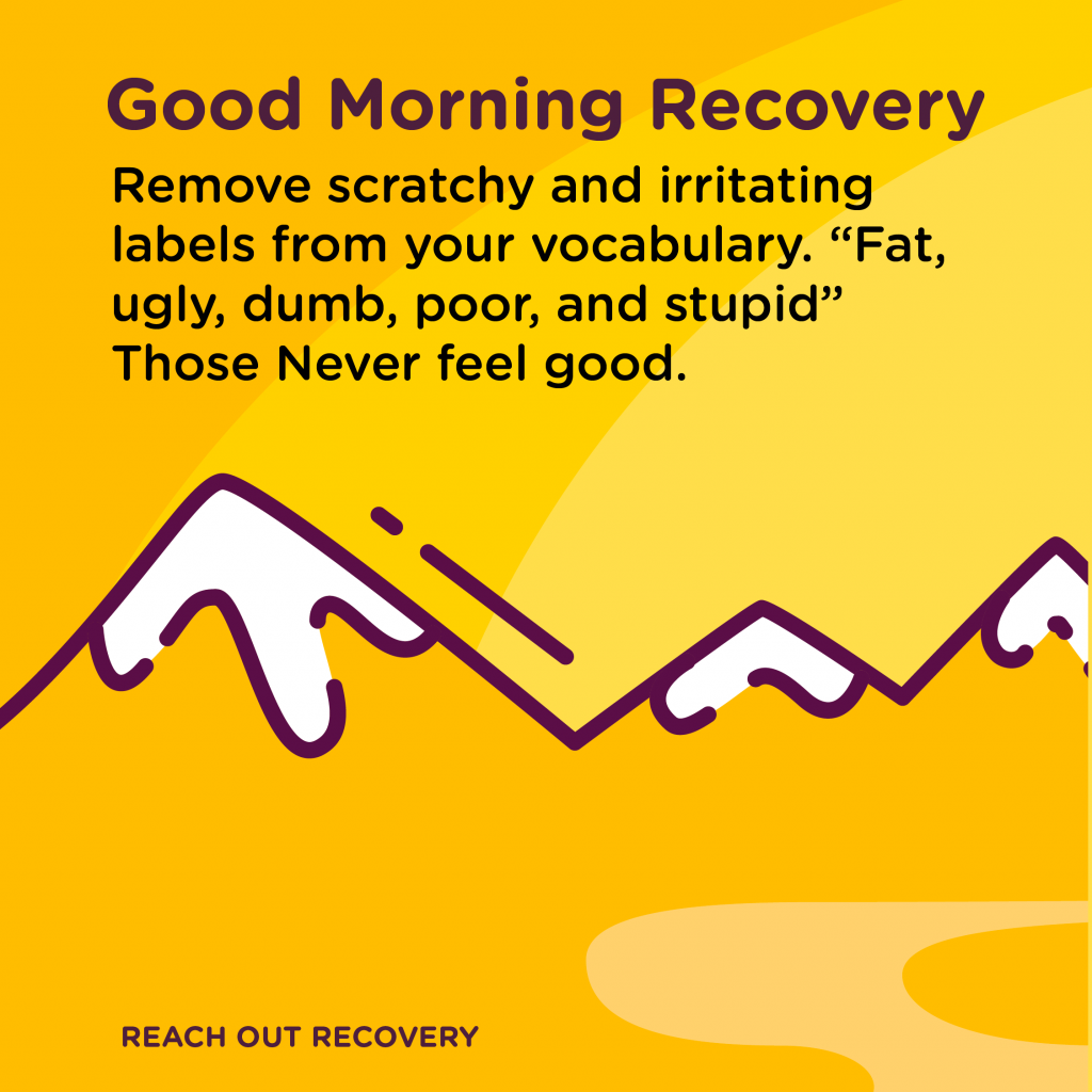 Good Morning Recovery Clean up
