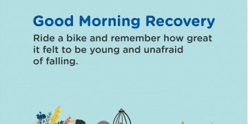 Good Morning Recovery bike