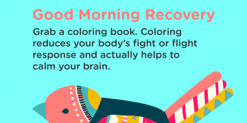 Good Morning Recovery coloring