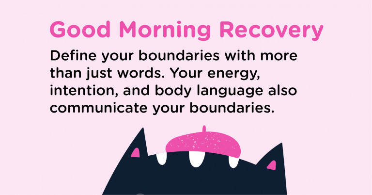 Good Morning Recovery define