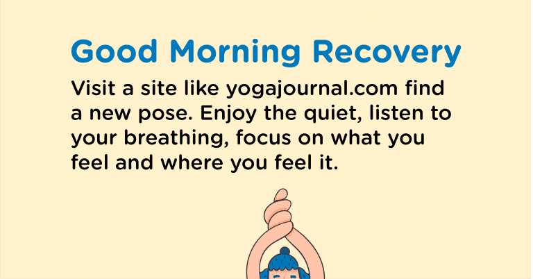Good Morning Recovery yoga