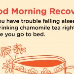 Good Morning Recovery tea