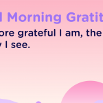 Good morning Gratitude beauty