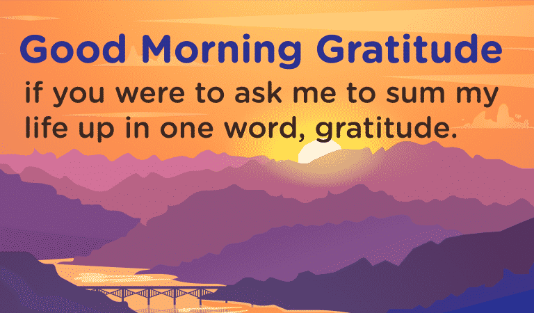 Gratitude Quotes: Sum Of Your Life