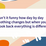 Quote of the day change