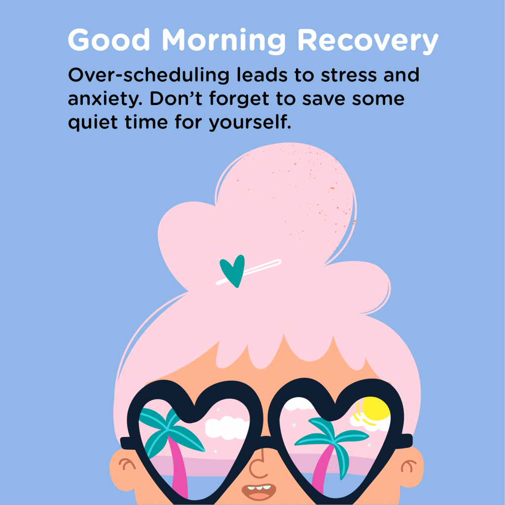 Good Morning Recovery stress