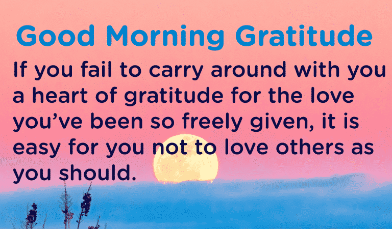 Do you have a heart of gratitude