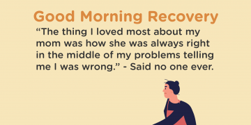 No one says this Recovery quote
