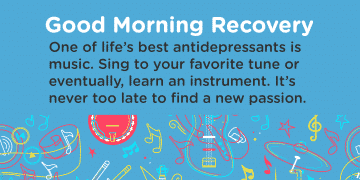 Good Morning Recovery music