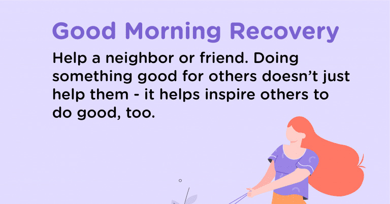 Good Morning Recovery help