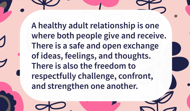 Know What To Look For In A Healthy Relationship