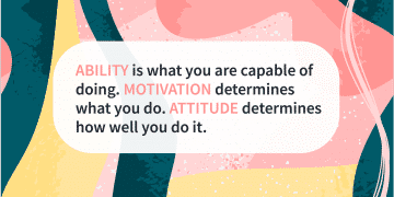 Quote of the day ability