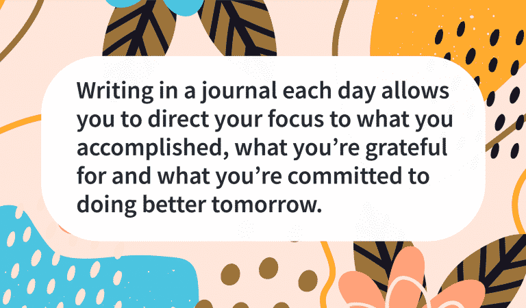 Daily Journaling Helps You Focus