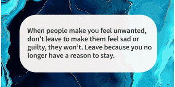 Narcissist quotes time to leave