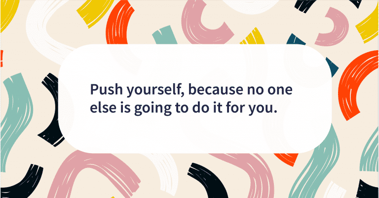Quote of the day push