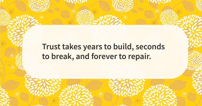 Relationship quotes trust