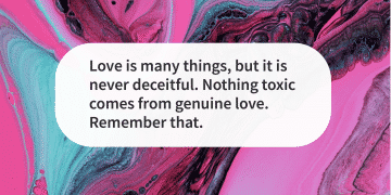Quote of the day genuine love