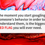 Quote of the day red flag