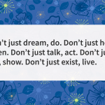 Quote of the day dream