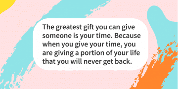 Quote of the day gift