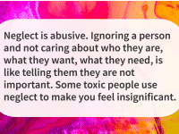 abuse quotes neglect is abusive