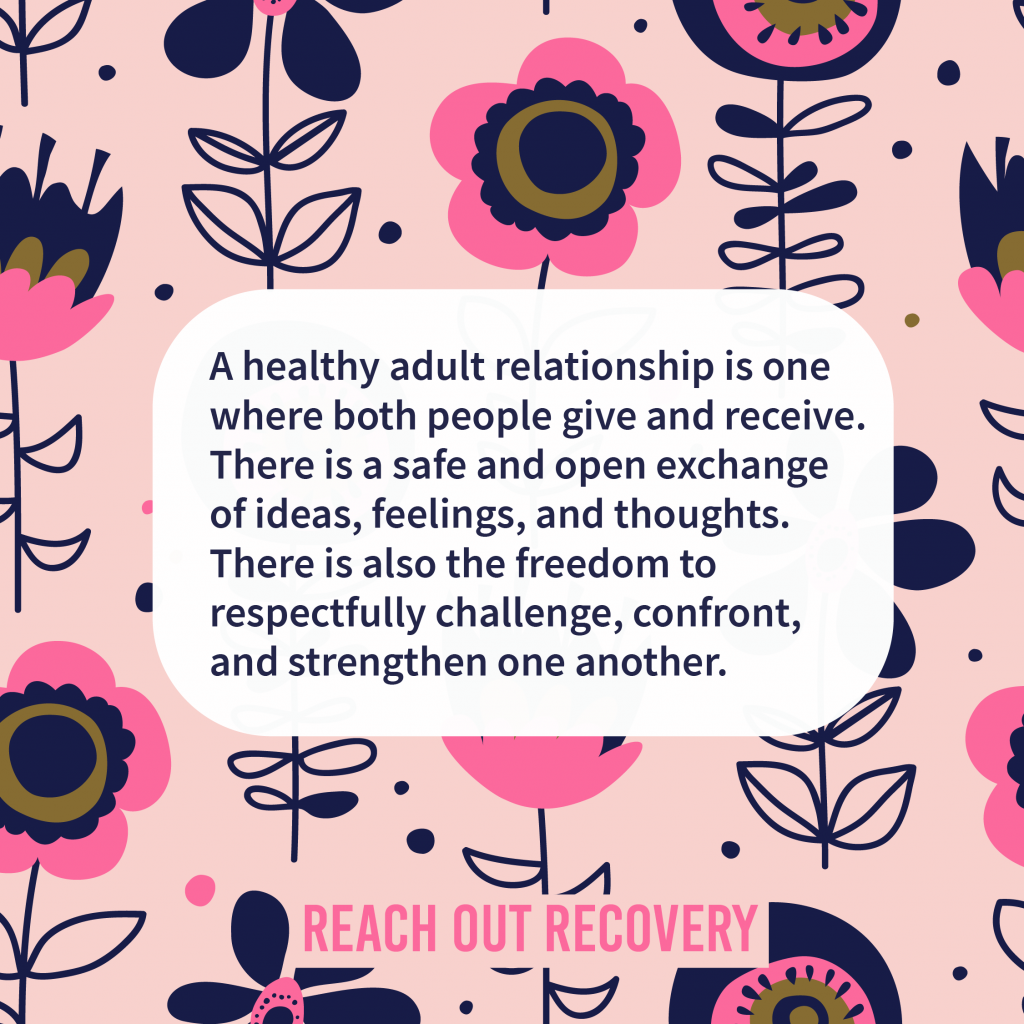Healthy relationship quote