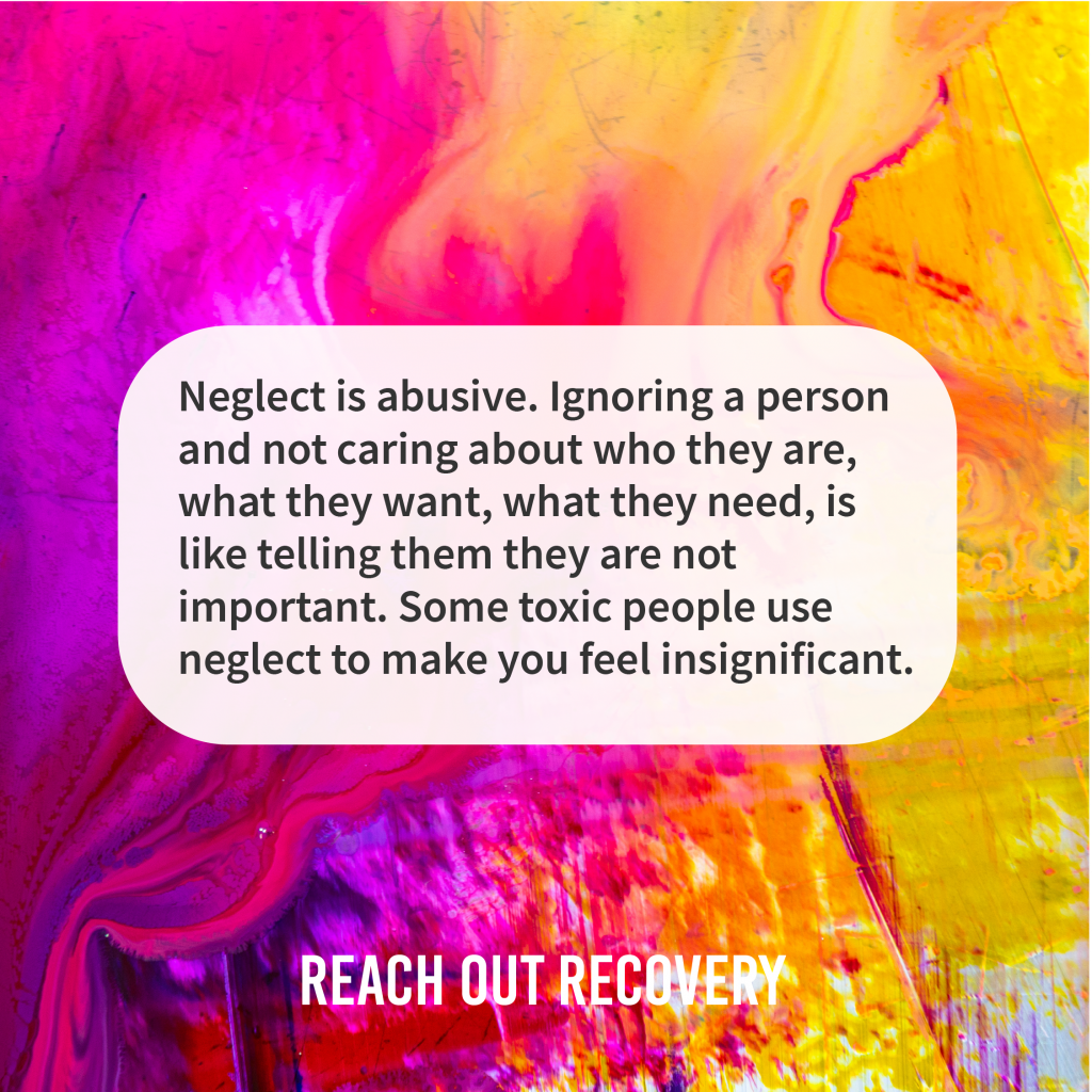 Quotes neglect is abusive