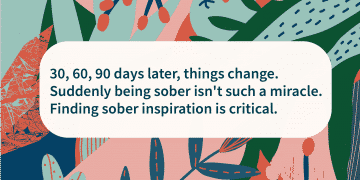 how to find sober inspiration
