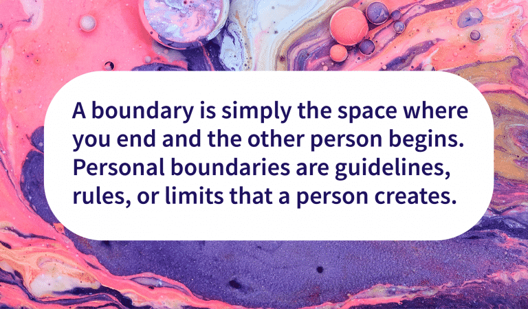 Boundaries Help You Be Yourself
