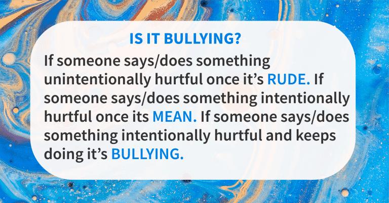 Boundary quotes boundaries bullying