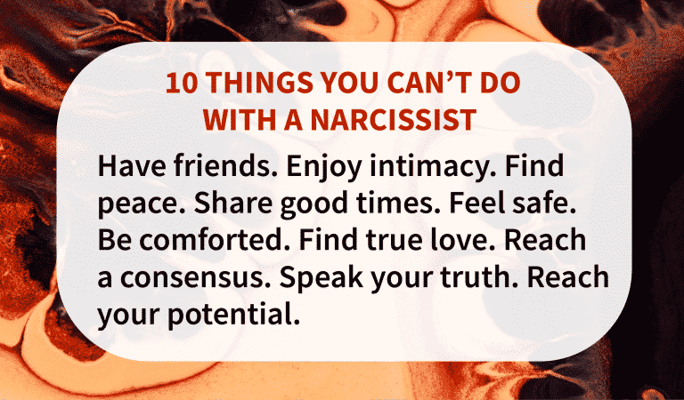 Top 10 Damages Of A Narcissist