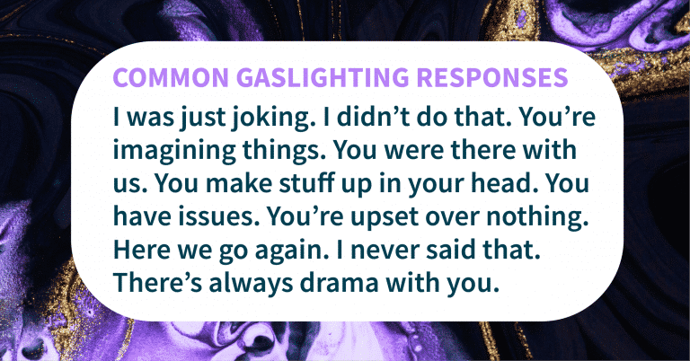 gaslighting is a sign of malignant narcissism