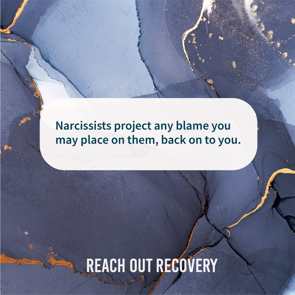 narcissist quotes how narcissists project blame