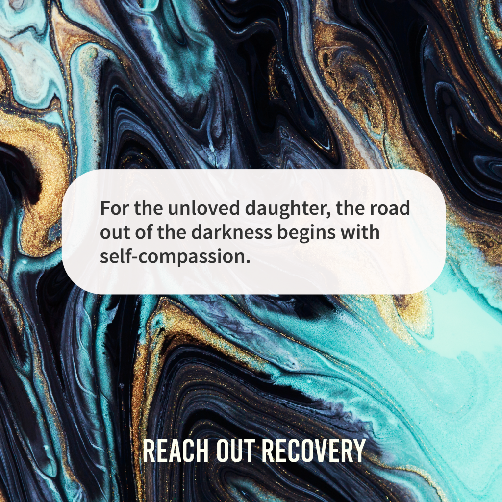 Recovery quotes who is an unloved daughter