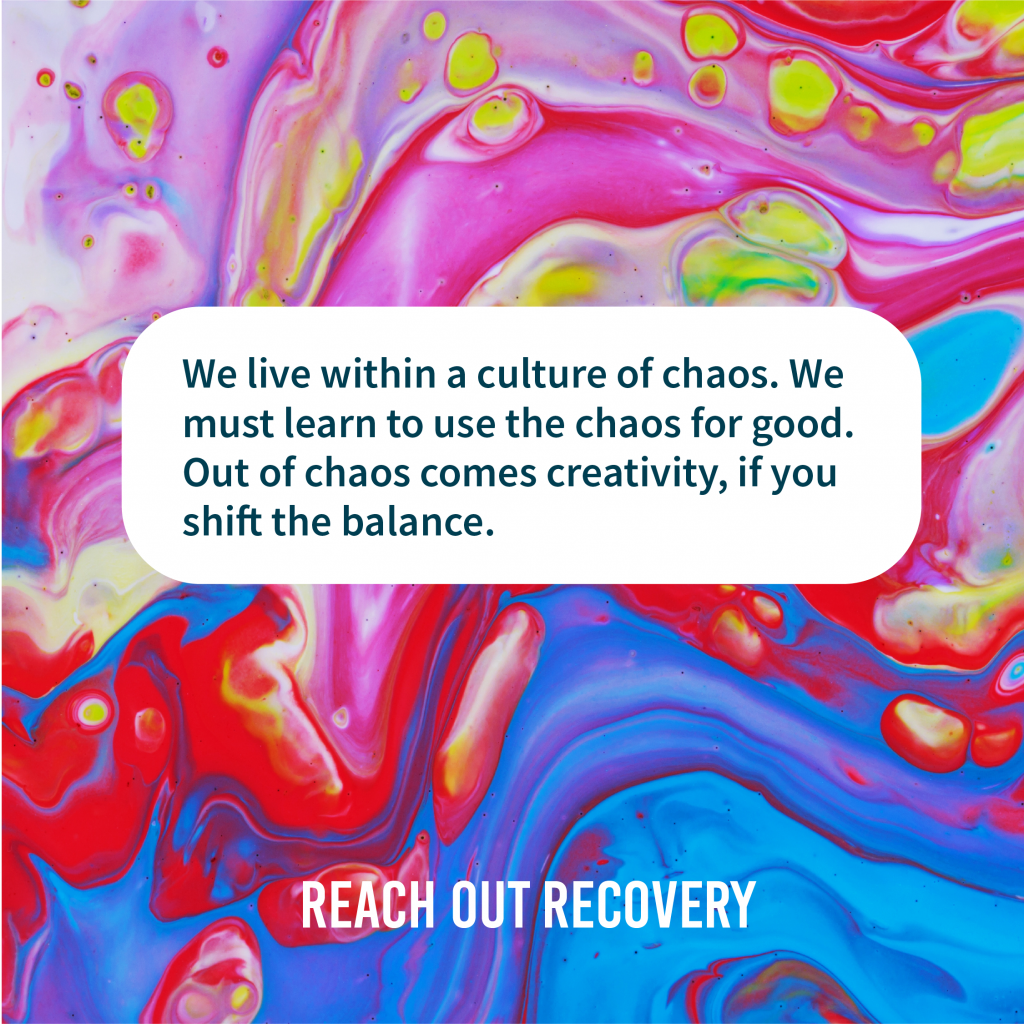 Chaos to creativity