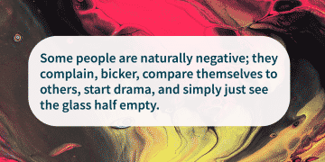 motivational quote stay Positive Around Toxic People