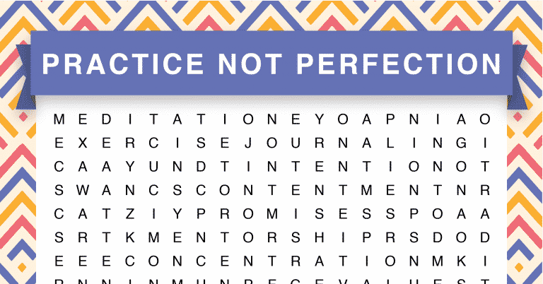 practice not perfection