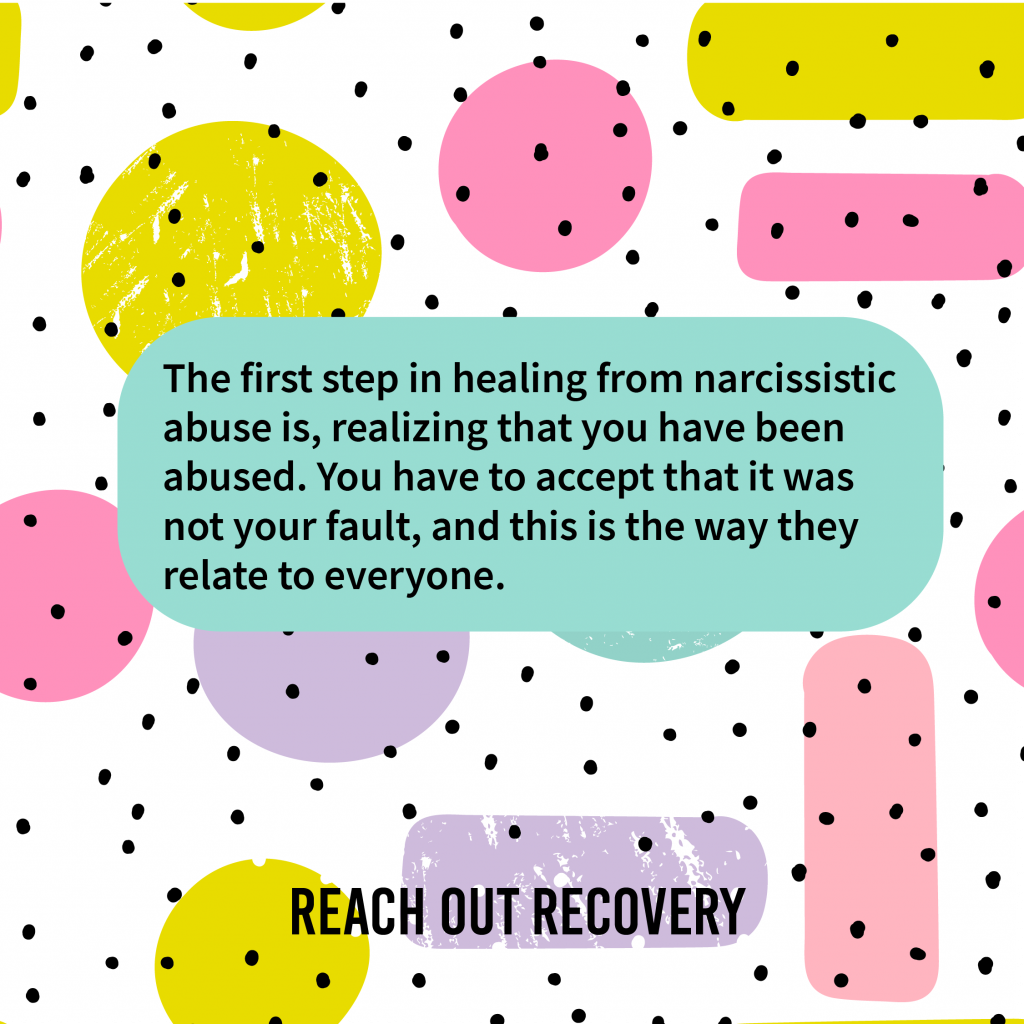 Accept The Narcissistic Abuse Is Not Your Fault