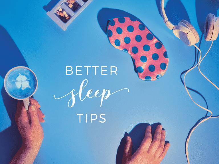 Self care ideas for healthy sleep