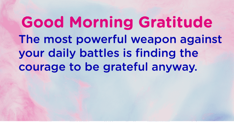 Think Thankful