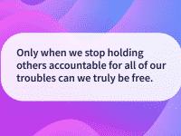 Tian Dayton Quotes Taking responsibility