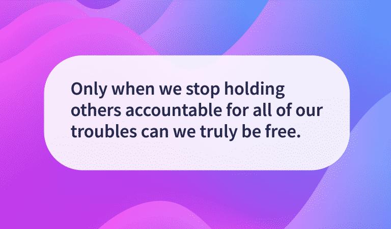 Tian Dayton Quotes: Taking Responsibility
