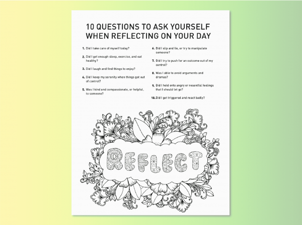 Questions Steps 9 and 10 Find your True colors