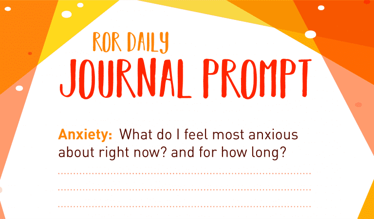 Anxiety Journal Prompt: Feeling Anxious