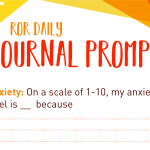 Anxiety prompt