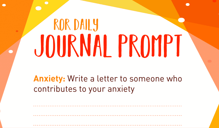 Anxiety Journal Prompt: Journal A Letter
