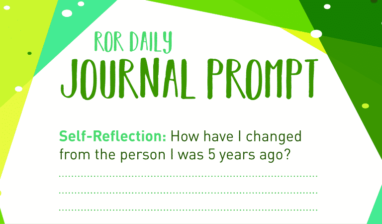 Self Reflection Journal Prompts: Change
