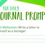 self reflection journal prompt